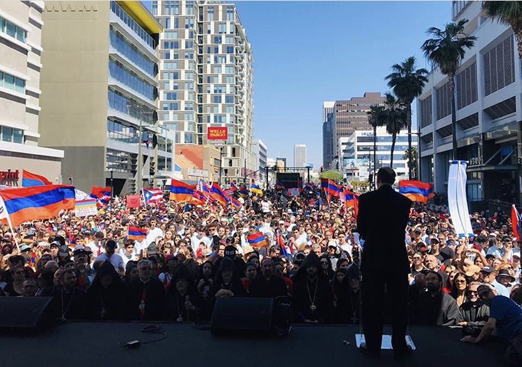 Sherman Marks 105th Anniversary of the Armenian Genocide